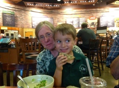 Sam & Grandma Albert, Summer 2014