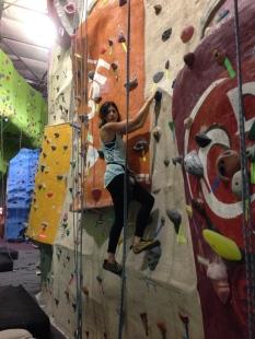 Indoor rock gym date